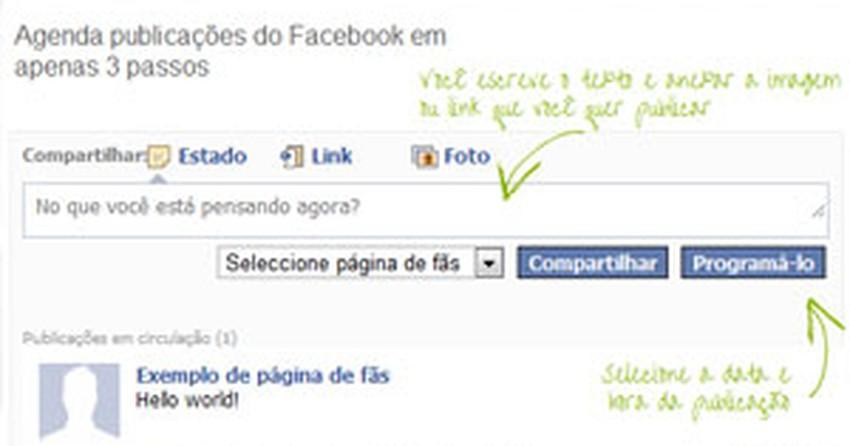 Programe seus posts no Facebook com o Postcron