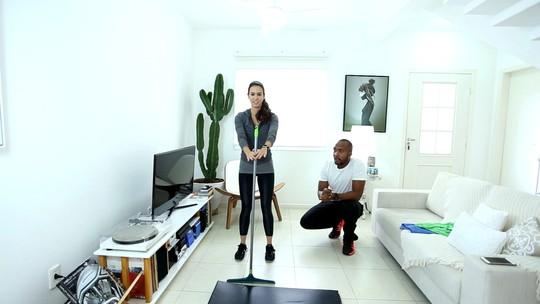 Analu: dicas de exercícios em casa 1