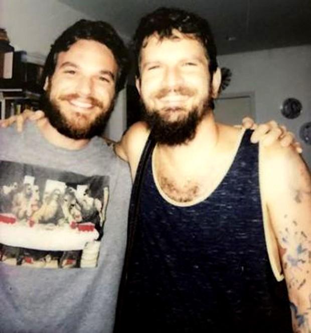 Emílio Dantas e Saulo (Foto: Reprodução/Instagram)