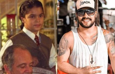 Alexandre Lemos viveu Zé Maria, outro filho de Álvaro. Hoje, ele é cantor, vocalista da banda Levada Carioca TV Globo / Reprodução