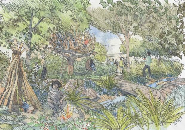 Kate Middleton ajuda a projetar jardim inspirado em suas memórias da infância (Foto: Reprodução/Instagram)