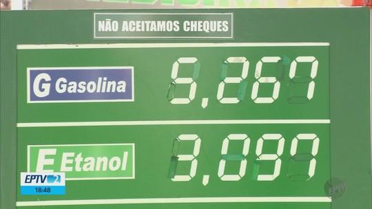 Preço do litro da gasolina passa dos R$ 5 em Pouso Alegre; veja números da região