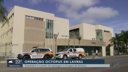 Operação prende empresário suspeito de esquema de agiotas em Lavras, MG