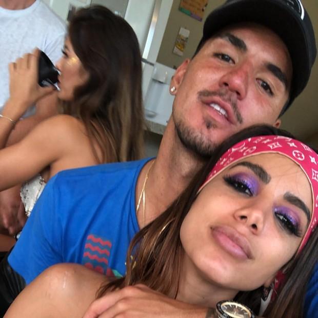 Gabriel Medina e Anitta (Foto: Instagram)