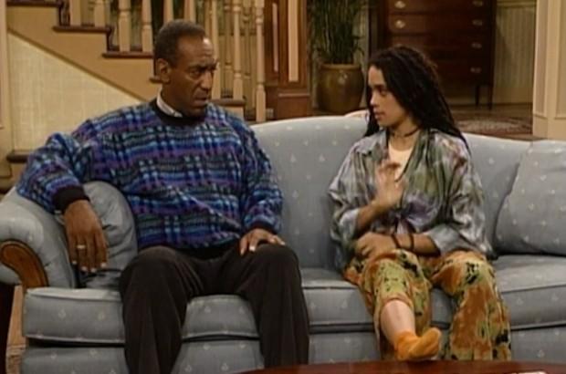 Bill Cosby e Lisa Bonet em cena da antiga série The Cosby Show (Foto: Divulgação)