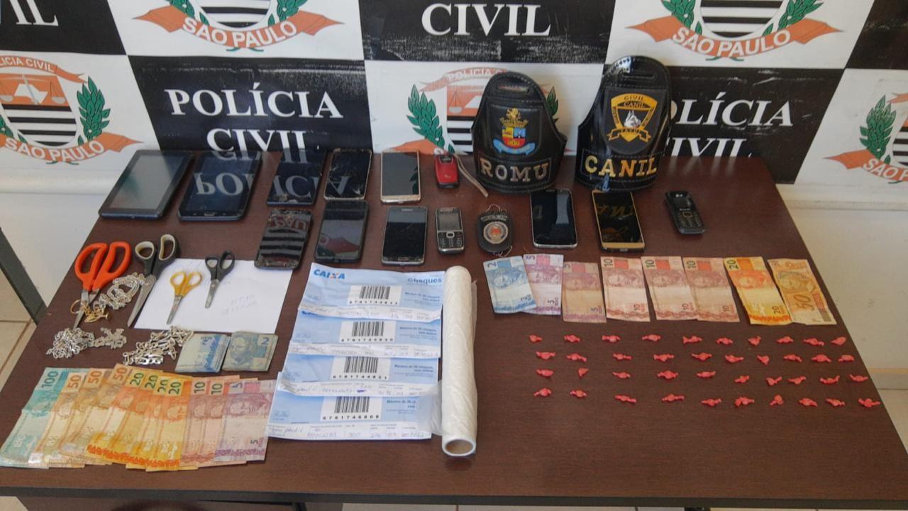 Polícia prende suspeitos de roubarem carros e posto de combustíveis em Tietê