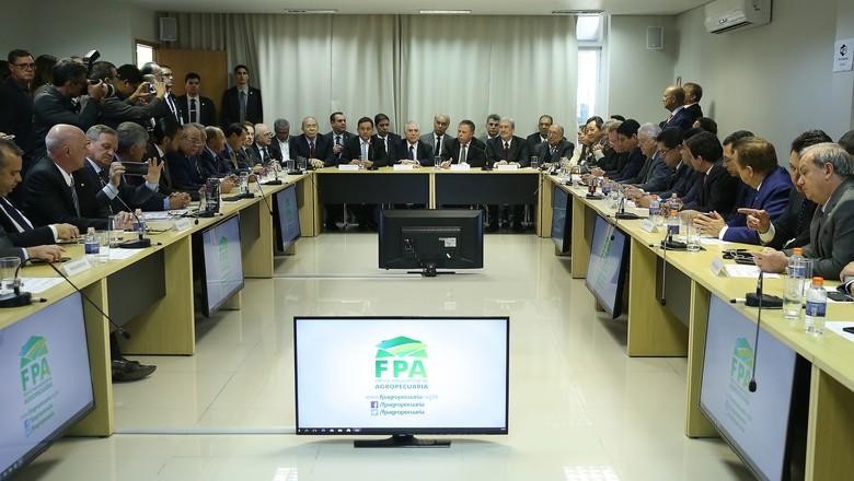 bancada ruralista - fpa  (Foto: Agência Brasil )
