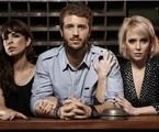 O trio de protagonistas de 'Copa Hotel' | Reprodução