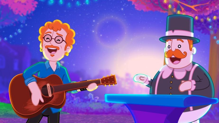Nando Reis entra no universo infantil em música com Mundo Bita e disco da série 'Rock your babies'
