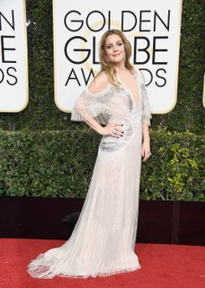 Drew Barrymore de Monique Lhuillier