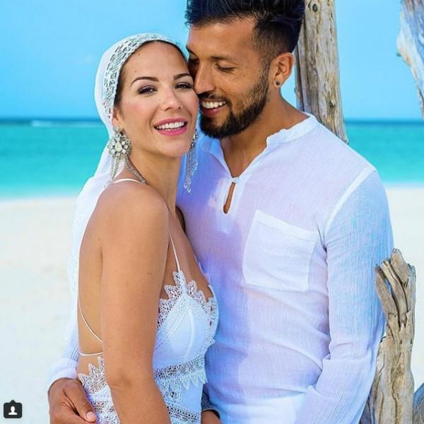 Tamara Gorro e Ezequiel Garay (Foto: Reprodução Instagram)