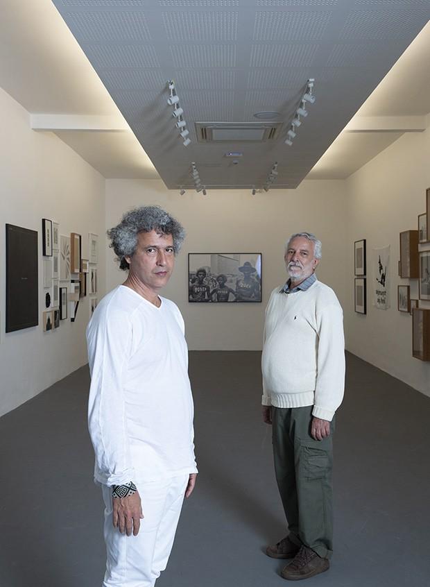 Bené Fonteles e Ernesto Neto em Casa Vogue Experience (Foto: Fotos: André Klotz )
