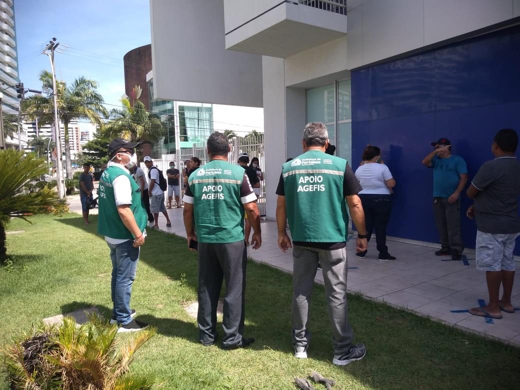 Agefis inicia fiscalização do uso de máscaras em locais públicos de Fortaleza