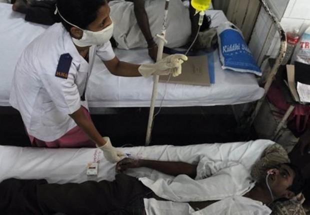 """A chamada """"vivax malária"""" é mais comum na América Latina e no sul da Ásia. O remédio aprovado pelos Estados Unidos é eficaz para esse tipo da doença (Foto: INDRANIL MUKHERJEE via BBC)"""