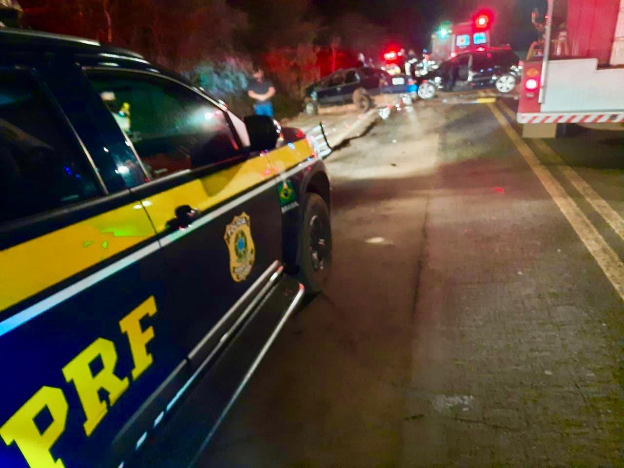 Jovem de 21 anos morre em acidente entre dois veículos na BR-468, em Palmeira das Missões