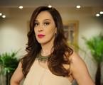 Lívia começará a dar sinais de desespero por causa de acusações de Lucimar e Théo   TV Globo/Alex Carvalho