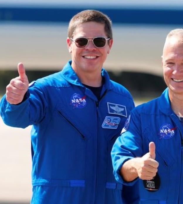 Quem são os astronautas da Nasa (e melhores amigos) a irem ao espaço em nave da SpaceX