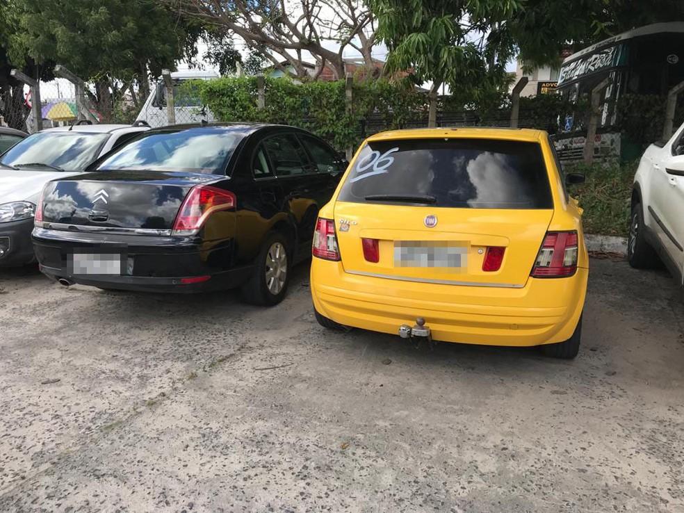 Homem aplicava golpe na compra e venda de veículos — Foto: SSP/ Divulgação