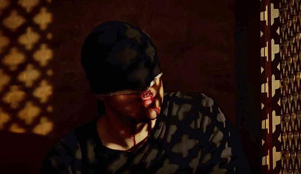 Demolidor no confessionário durante a terceira temporada da série da Netflix (Foto: Reprodução/Youtube)