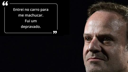 """Abre Aspas #5: Barrichello diz que melhorou a F1 e foi """"depravado"""" ao correr após morte de Senna"""