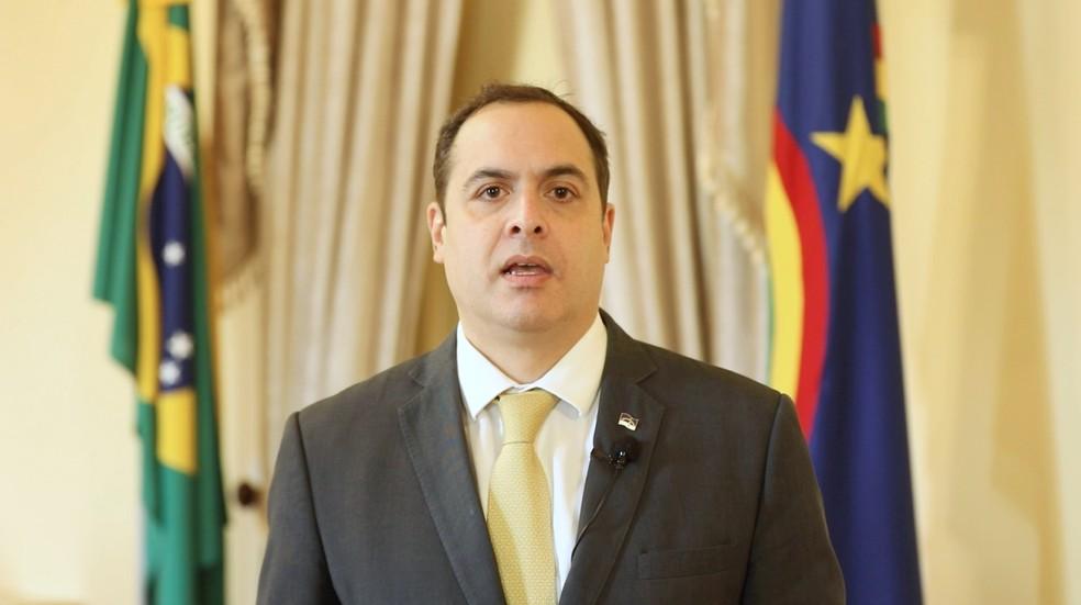 Governador de Pernambuco, Paulo Câmara (PSB), disse que determinou apuração de crimes contra mulheres trans — Foto: Reprodução/Governo de Pernambuco
