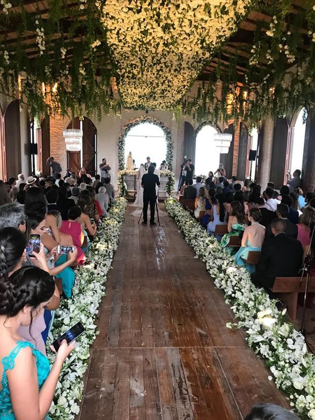 Casamento de Whindersson Nunes e Luísa Sonza (Foto: Divulgação)