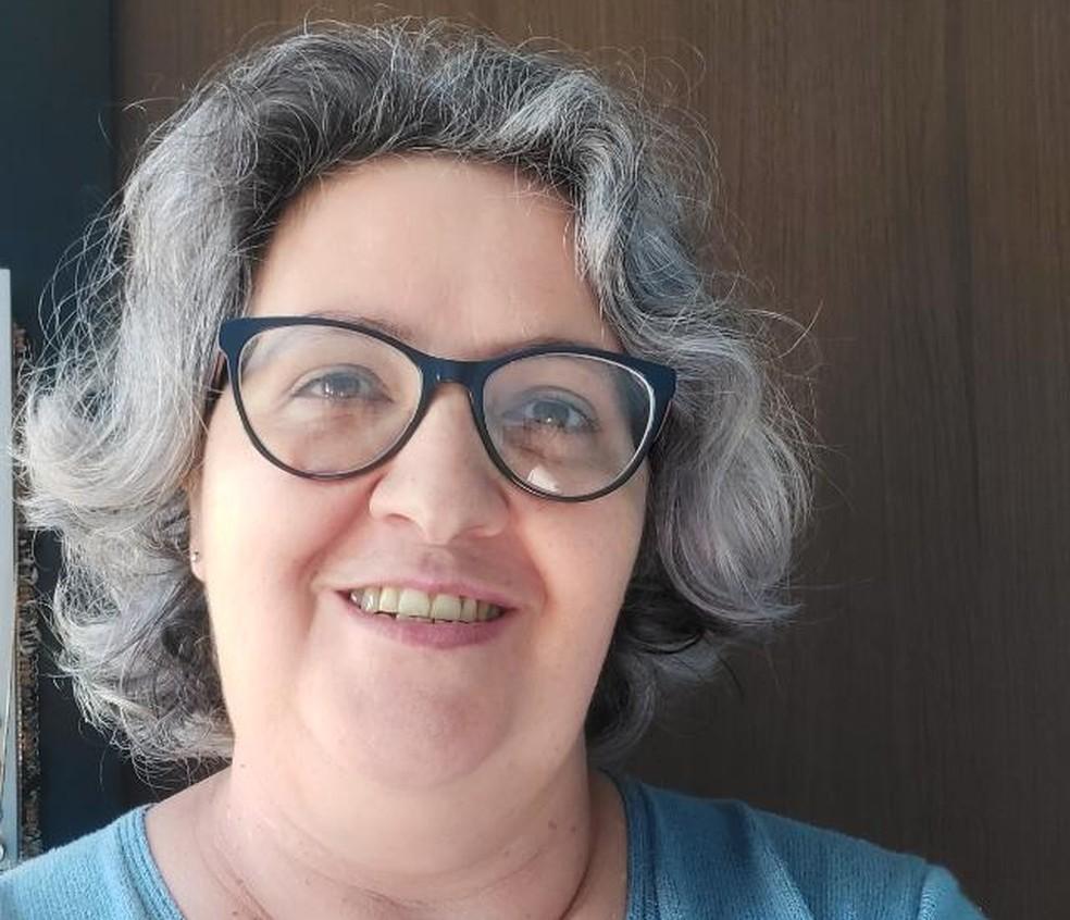 Rosemeyre de Oliveira foi ameaçada por um aluno armado na escola. — Foto: Arquivo pessoal
