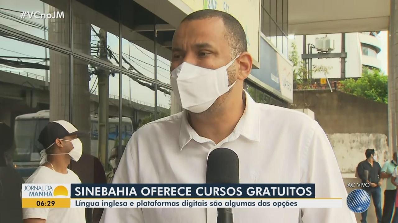 Oportunidade: Sine Bahia abre inscrições para cursos gratuitos pela internet
