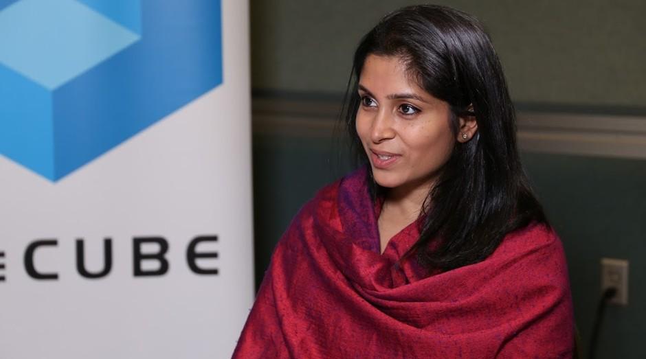 Pooja Sankar, fundadora da startup Piazza (Foto: Reprodução)