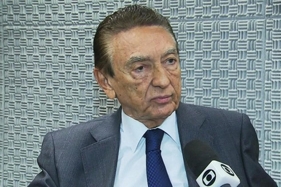 Edison Lobão concorre ao Senado pelo MDB (Foto: Reprodução/GloboNews)