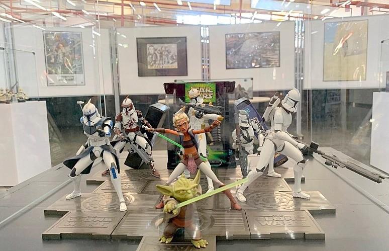 Biblioteca Comunitária da UFSCar reúne exposição da série 'Star Wars' - Notícias - Plantão Diário