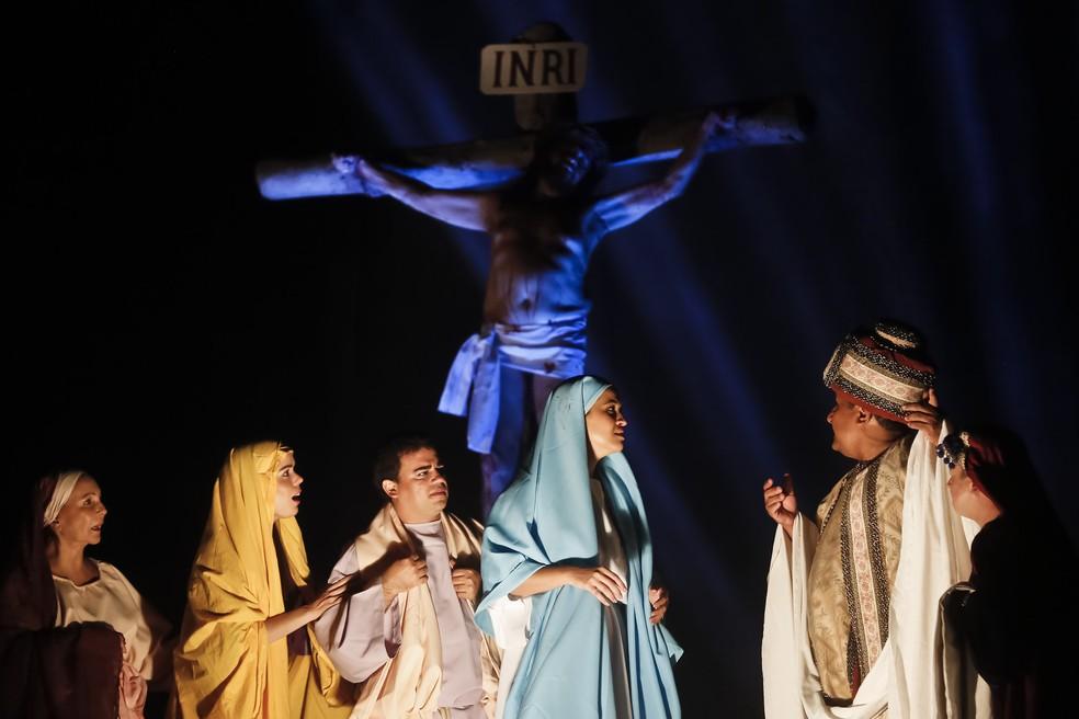 Paixão de Cristo é encenada no Recife (Foto: Andréa Rêgo Barros/Arquivo PCR/Divulgação)