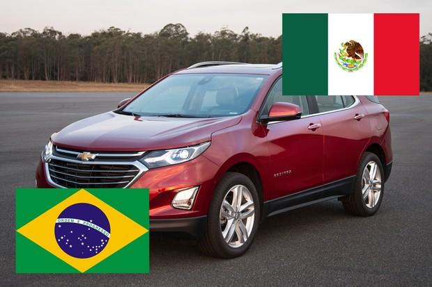 Os carros vendidos no Brasil que são importados do México (Foto: Autoesporte)
