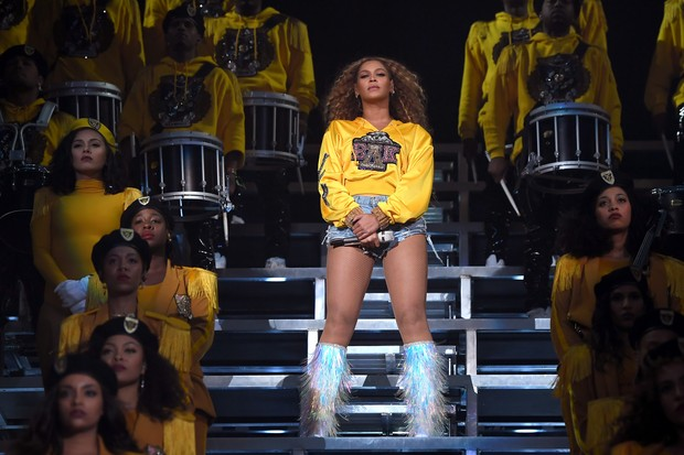Beyoncé no Coachella 2018 (Foto: Getty Images)