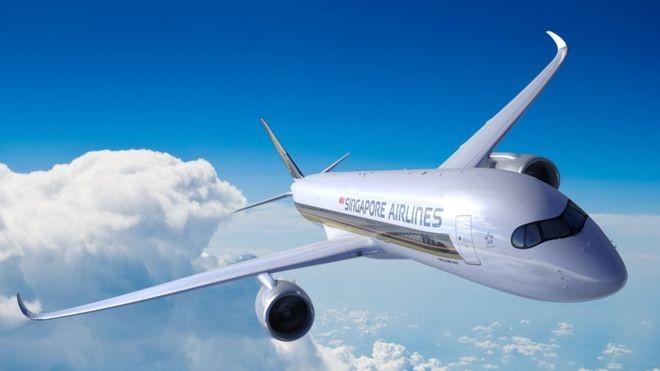 A Airbus fez alterações no sistema de combustível da aeronave para permitir uma autonomia de voo maior (Foto: SIA via BBC)