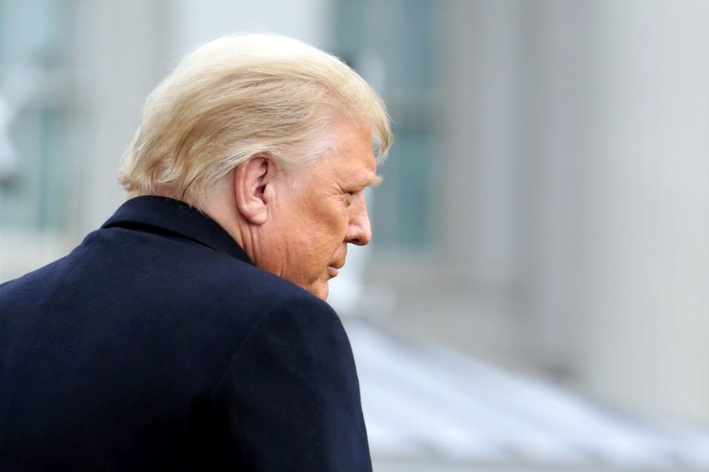 Donald Trump, presidente dos EUA, na Casa Branca em foto de 12 de dezembro — Foto: Cheriss May/Arquivo/Reuters