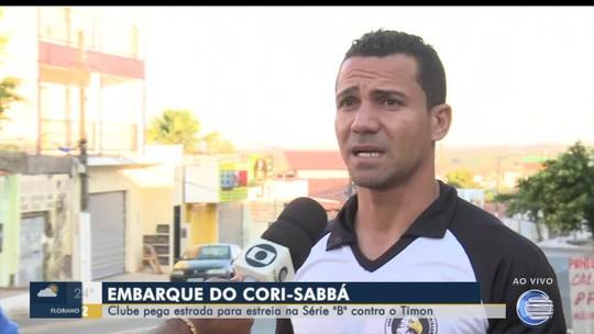 No dia do jogo, Cori-Sabbá viaja 5h de ônibus para estreia contra o Timon na Série B do Piauiense
