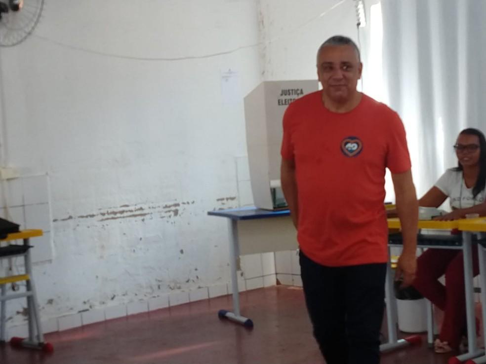 Antônio Junior foi eleito o prefeito de Lajeado — Foto: Mayky Araújo/TV Anhanguera