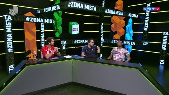 Grandes dribles da Copa no Zona Mista, com comentários de Amaral