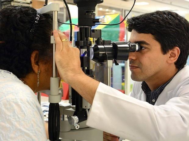 Mutirão do glaucoma é realizado em Imperatriz