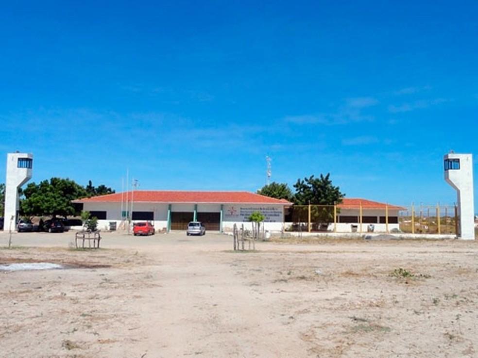 Cadeia Pública de Caraúbas fica na região Oeste potiguar — Foto: Maykon Oliveira