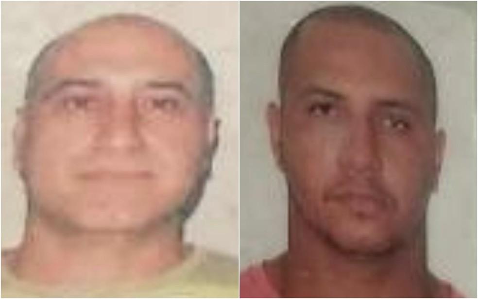 Motorista da Kombi, Rogério Olívio de Carvalho, e o passegeiro, Maicon Silva, são mortos em Goiânia (Foto: Arquivo pessoal)