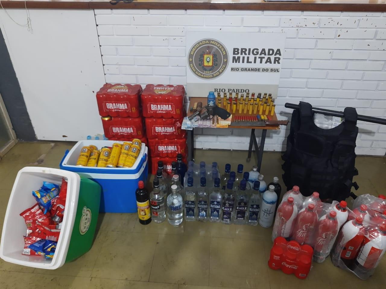 Festa clandestina com 120 pessoas é interrompida em Rio Pardo; dois organizadores foram presos