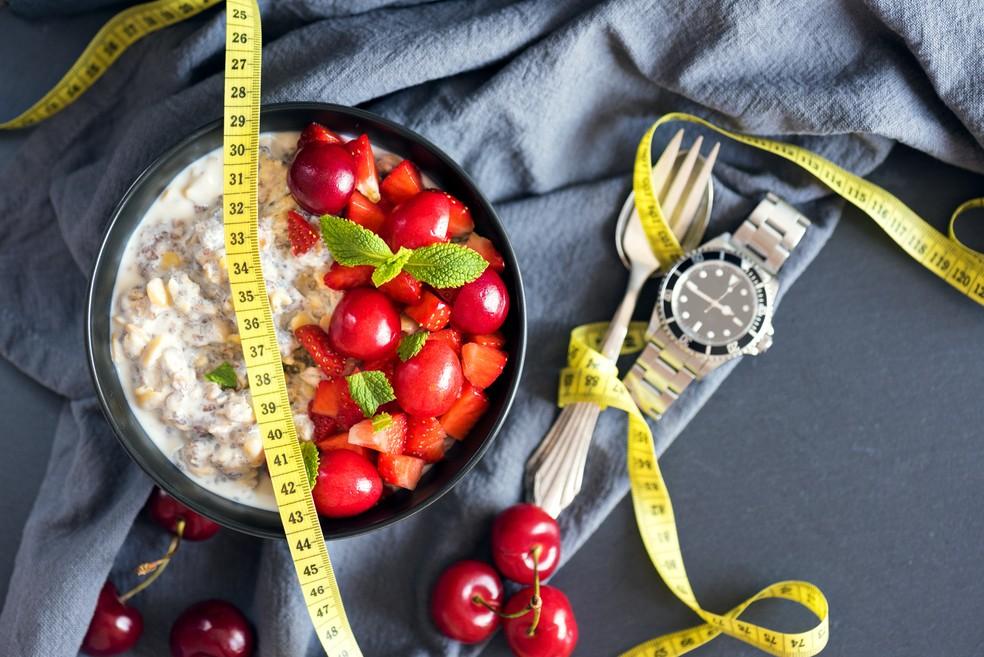 Jejum intermitente também apresentou menos tempo para redução de peso comparado à outras dietas — Foto: iStock Getty Images