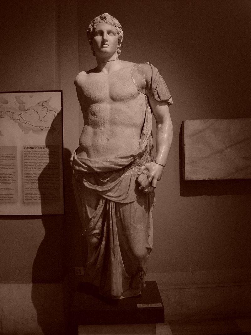 Alexandre, o Grande (Foto: Wikimedia Commons)