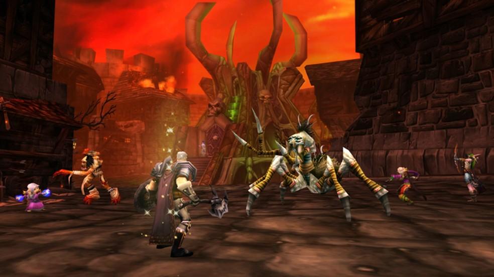 World of Warcraft Classic traz momentos nostálgicos dos primórdios do famoso MMORPG — Foto: Divulgação/Blizzard