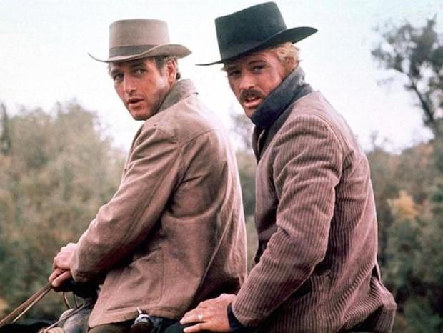 Paul Newman e Robert Redford em Butch Cassidy (Foto: reprodução)