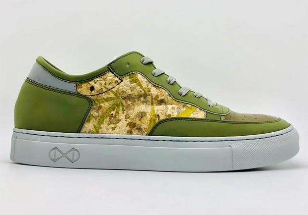 Marca lança tênis vegano feito com folha de maconha (Foto: Divulgação)