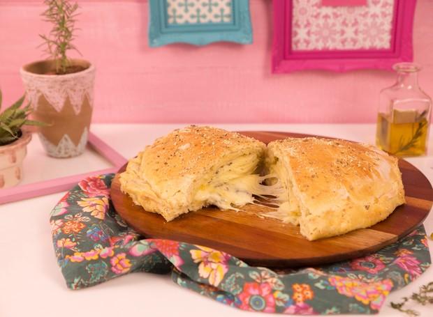 Calzone quatro queijos da Finna (Foto: Divulgação)