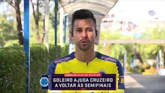 Para Fábio, classificação diante do maior rival não diminui pressão sobre Cruzeiro no Brasileiro